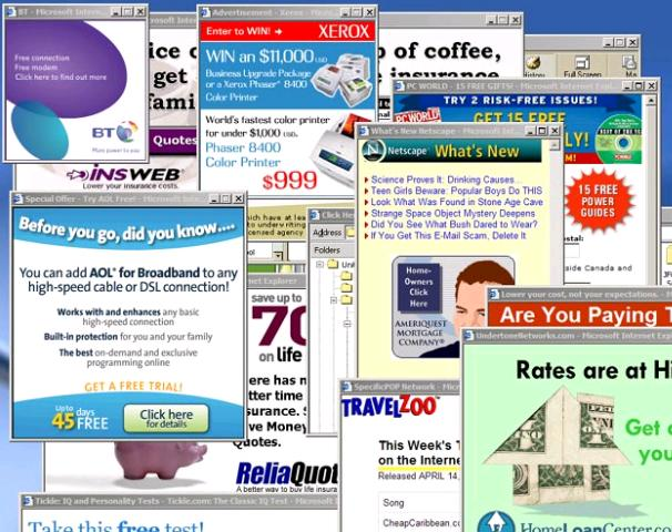 Image result for popup windows on website annoying
